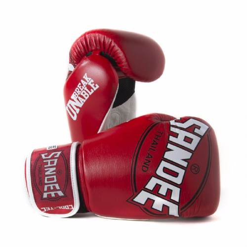 Sandee Cool-Tech Boxing Gloves Red/White